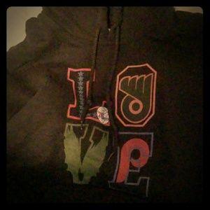 Womens Gildan hoodie
